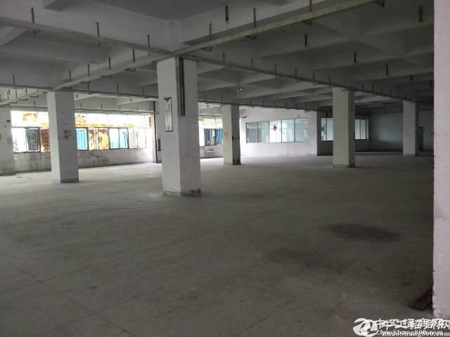 西乡航城大道3500平标准厂房出租带装修