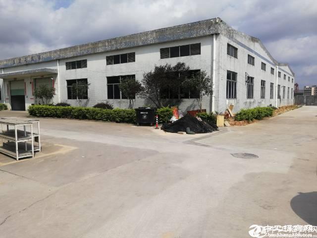 坪山原房东钢构厂房3200平实际面积出租