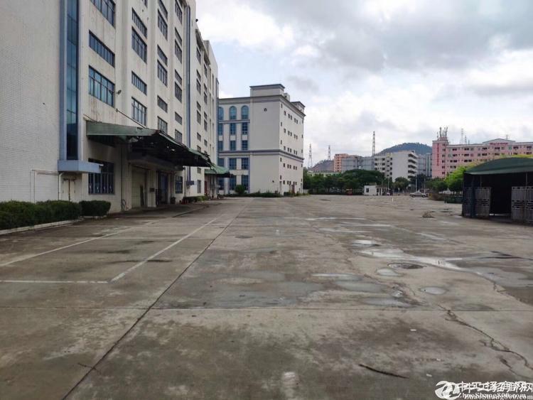 龙岗横岗大型工业园区新出独院2600平厂房出租