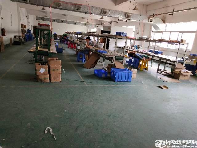 坪山大工业园区分租2楼500平标准红本厂房