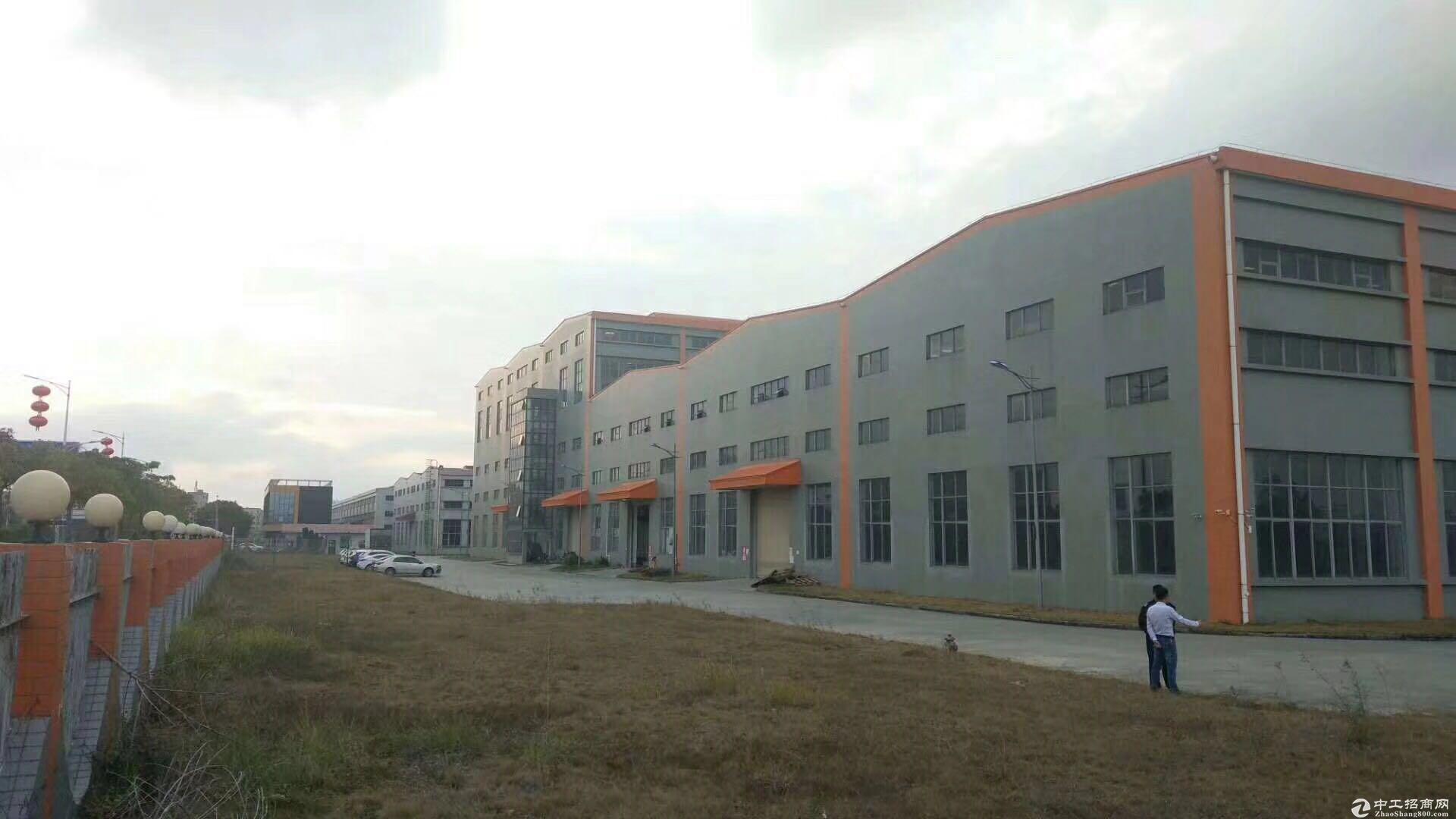 坑梓大型物流园3万平方厂房出租1千平方起分高12米