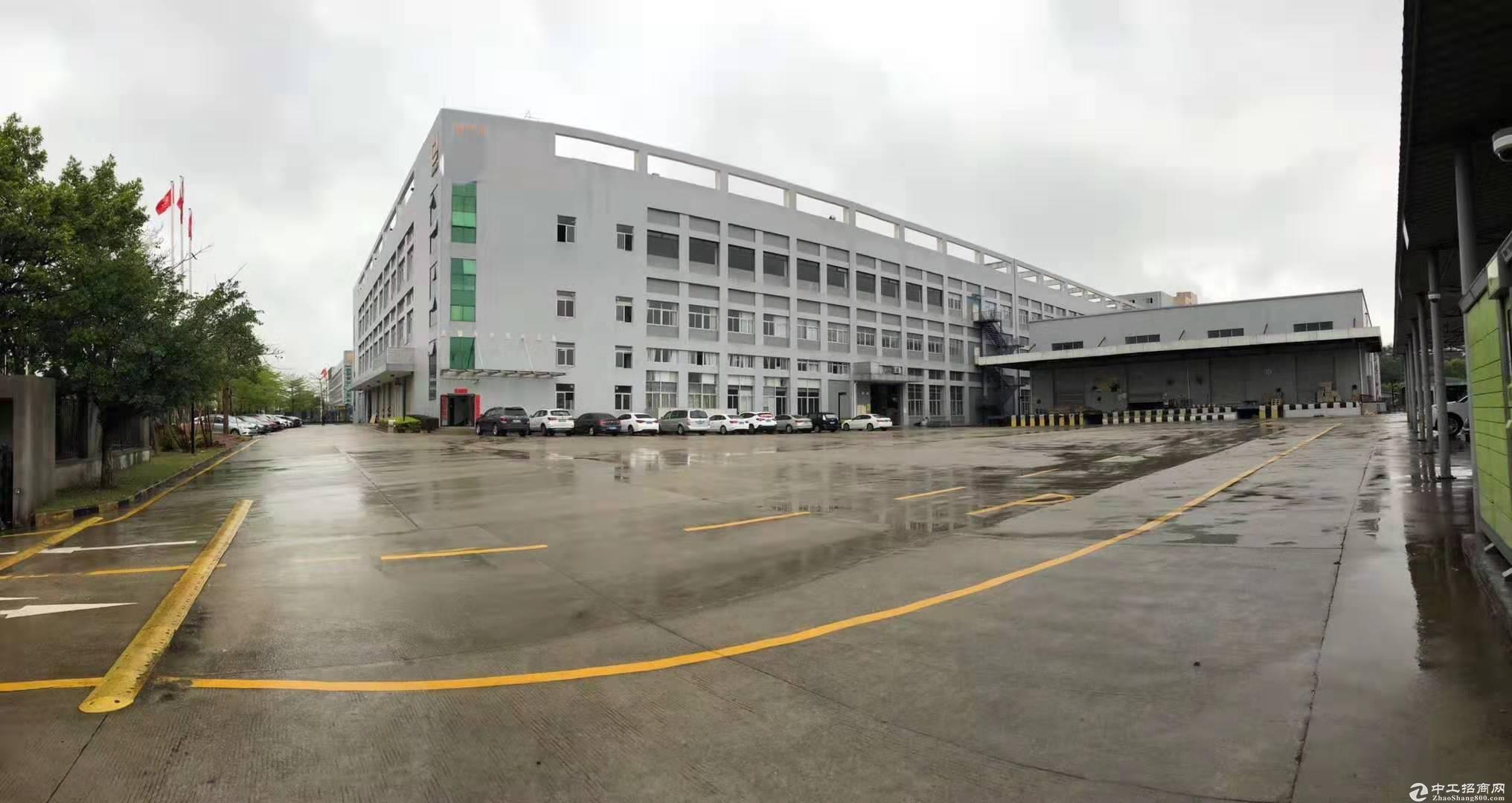 坪山红本厂房三层共34500平单层11500平出租-图4
