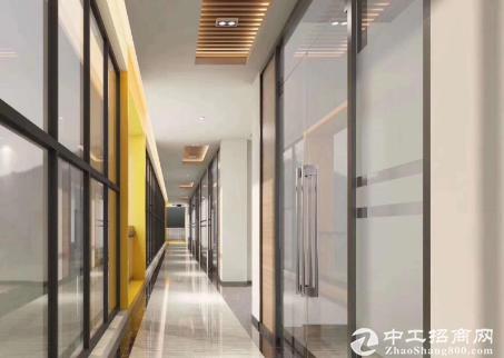 福永镇107国道边高新产业园招租1000平带精装修(可分租)