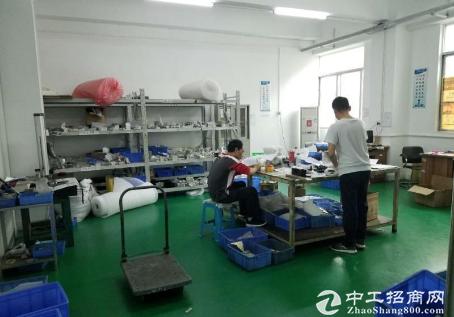 沙井马安山第二工业区楼上500平米带简易装修厂房