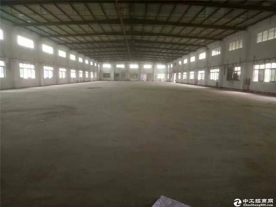 坪山坑梓工业区主干道边原房东1000平米厂房出租