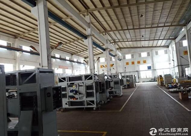 坪山钢结构厂房2500平方高12米带丙类消防可分租