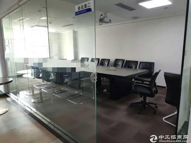 横岗地铁站1000平精装修带家私办公室出租