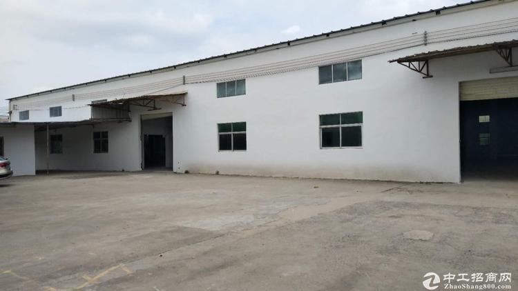 惠阳新圩约场钢构独院3600平,滴水7米,电按需,空地大交通便利