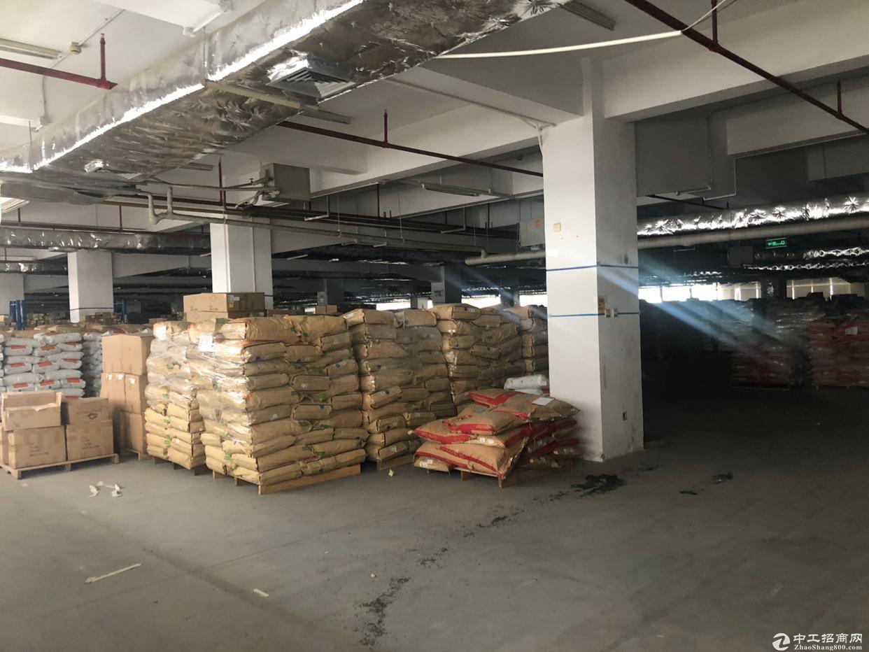 大工业区物流仓库5200平方出租有卸货平台