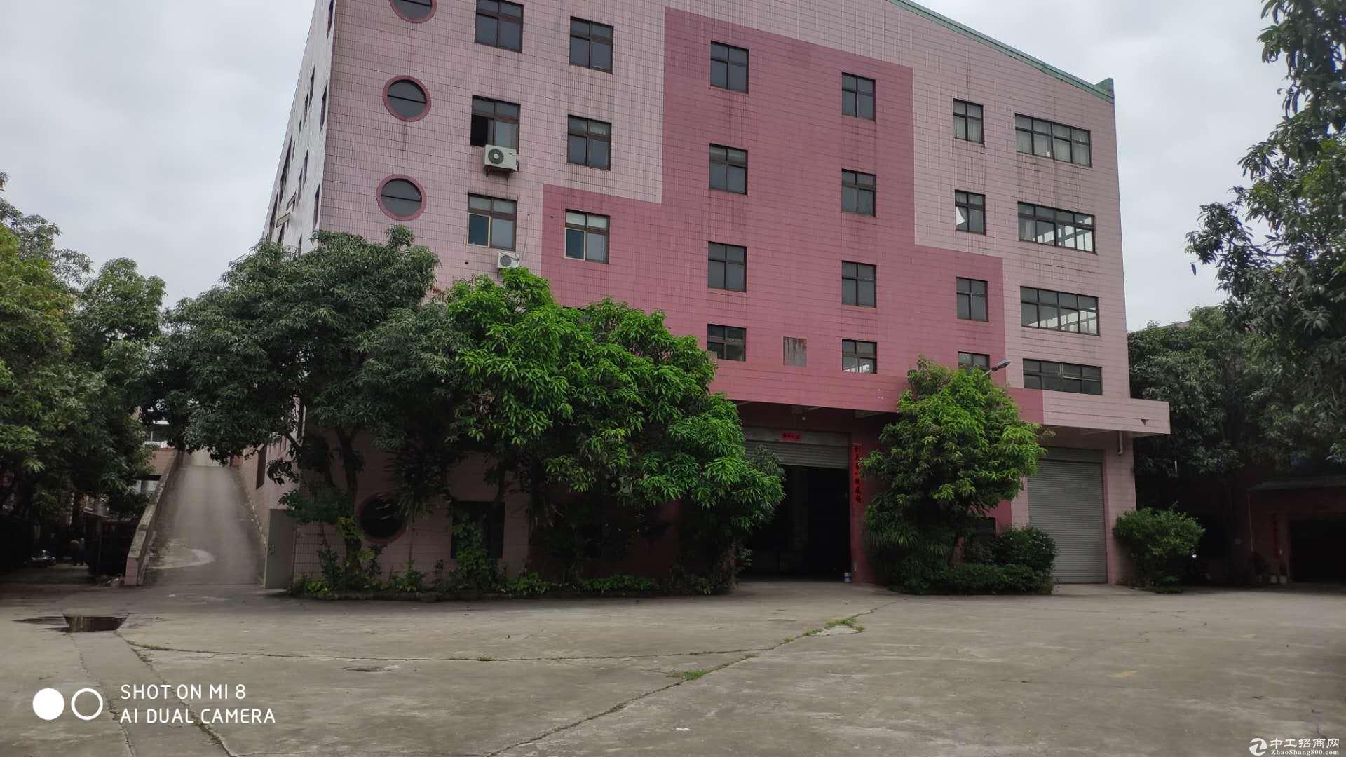 惠环工业园区楼上1200平米实际面积带装修出租。