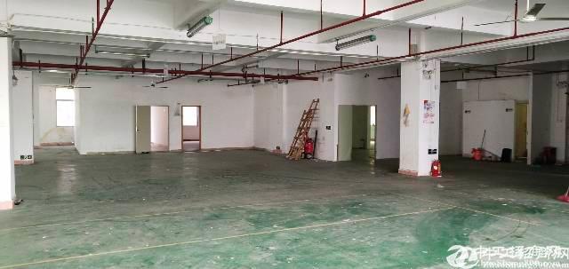 西乡新出楼上厂房450平方招租,可做五金,设备