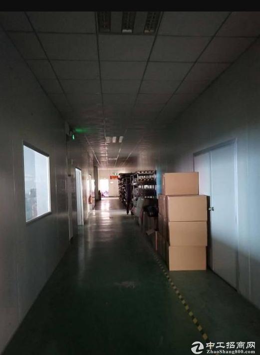 横岗四联排榜砖厂工业区三楼1550平方带装修水电齐全