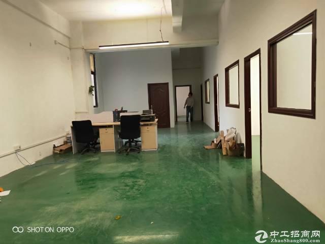 南山西丽南岗工业区精装带家私1200平办公研发仓库