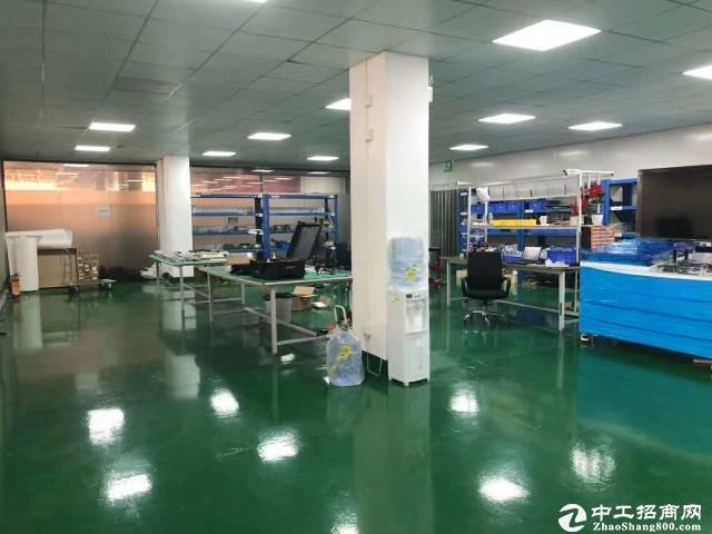 南山南岗工业区精装带家私1200平办公研发仓库