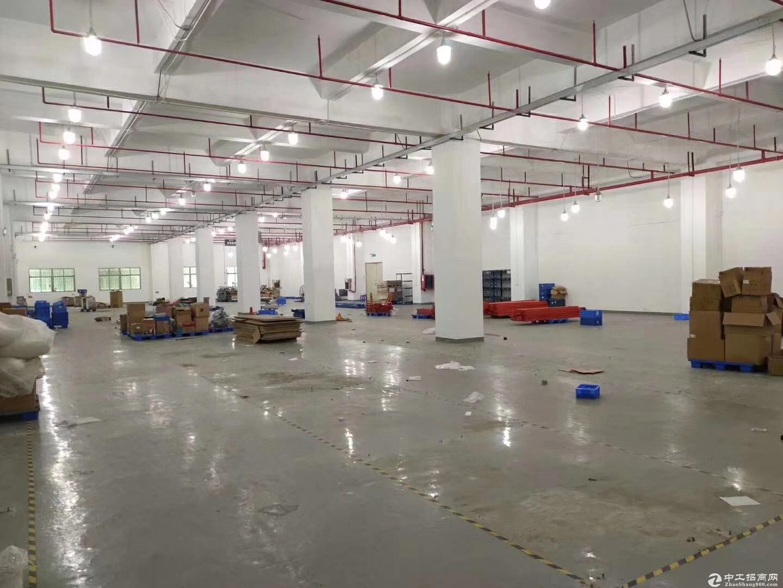 环境优美!带地坪漆!坑梓新出楼上2200平厂房