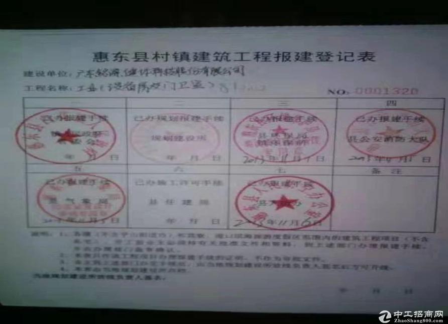 深圳周边厂房出售63961平米红本产权独院可交易