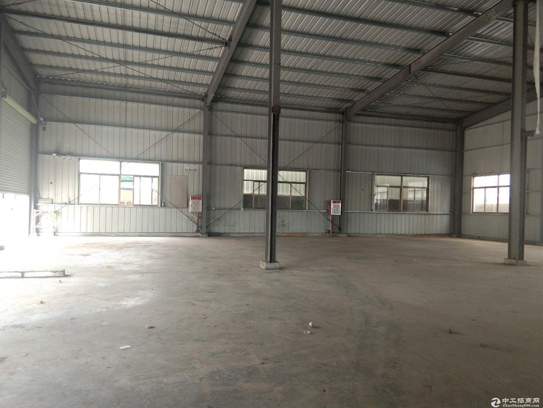 塘厦镇清湖头新空出钢构厂房580平米高7米-图3
