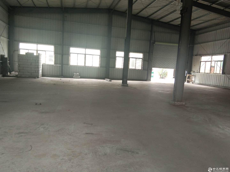 塘厦镇清湖头新空出钢构厂房580平米高7米-图2