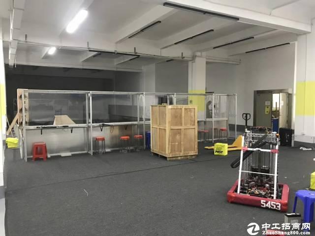 南山区西丽旺棠一楼1200平带装修厂房出租,7.5成使用率