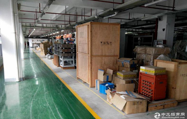 横岗六约楼上500至2000平厂房仓库带地坪漆大小可分-图4
