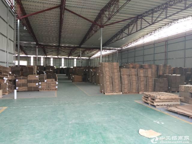 长安乌沙工业区单一层铁皮房2175平方现成装修 空地大