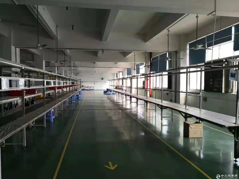 公明红星村第四工业区2万平方厂房仓库出租200起分-图2