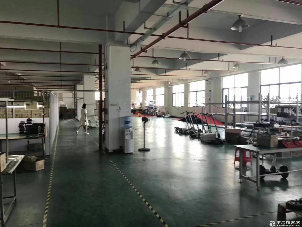 公明红星村第四工业区2万平方厂房仓库出租200起分-图9