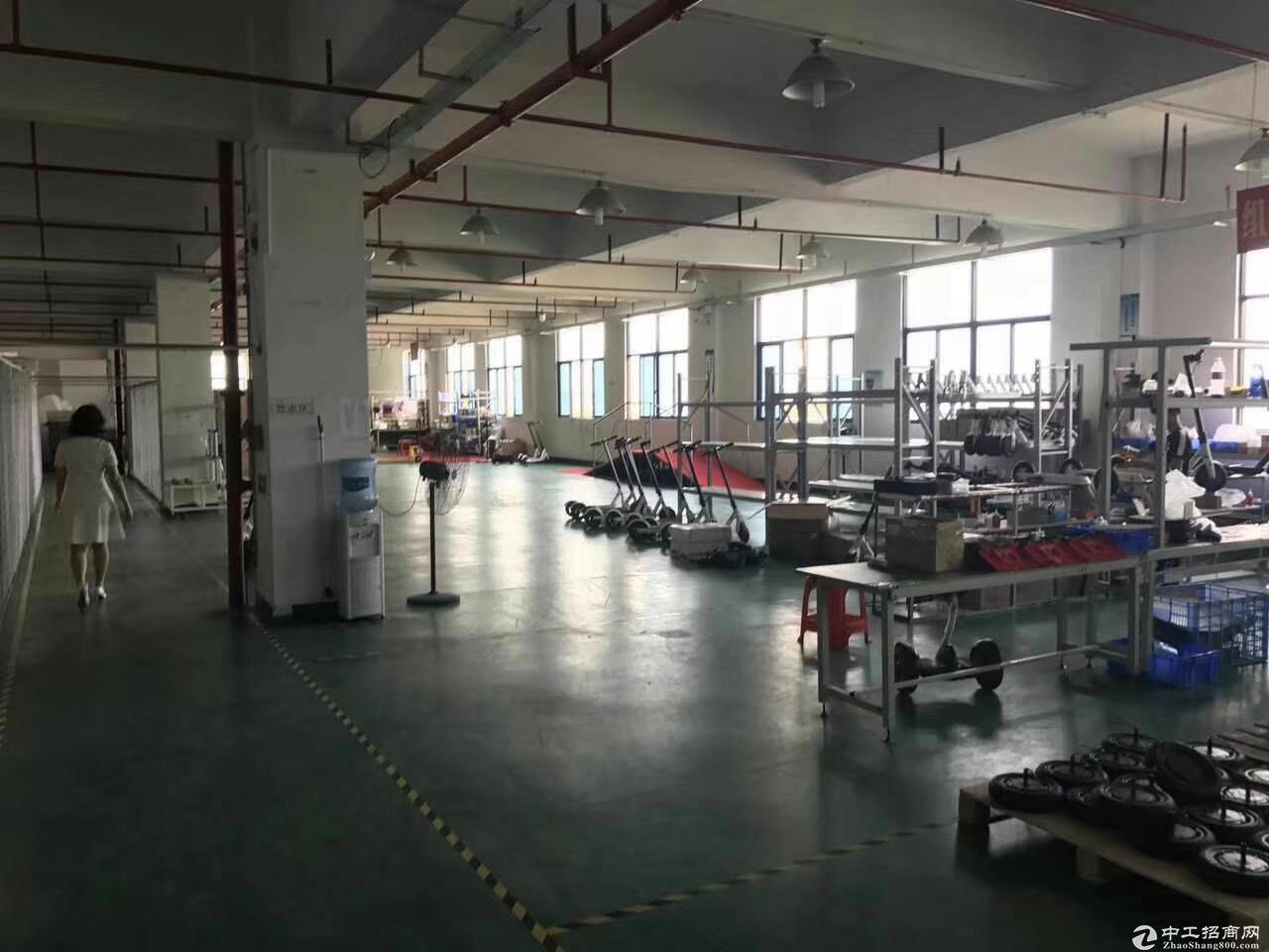 公明红星村第四工业区2万平方厂房仓库出租200起分-图8