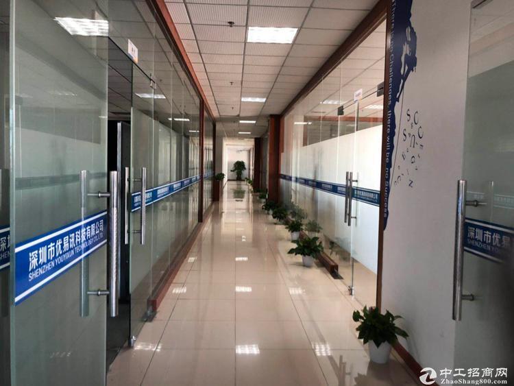 西丽科技园新出厂房办公室565平精装修招租