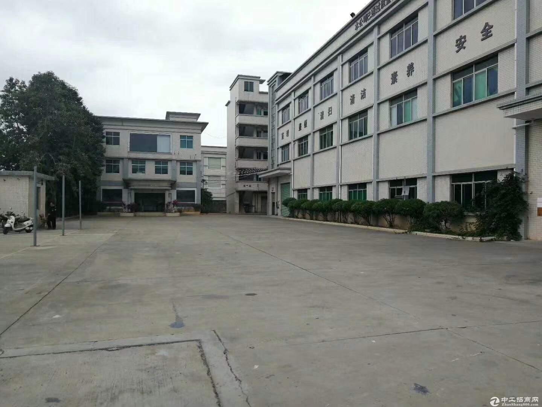 公明田寮第七工业区原房东独院7500平米实际面积出租