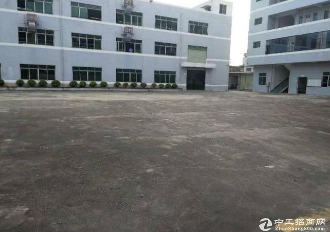 惠州博罗杨村独院厂房6000平方带家具环评厂房出租