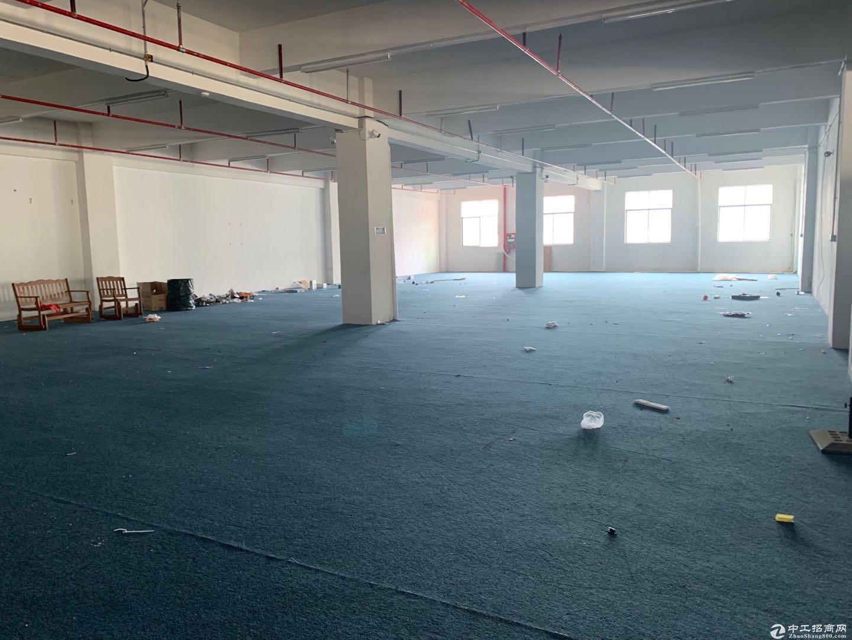 横岗地铁站附近红本高新产业园楼上680平米招租