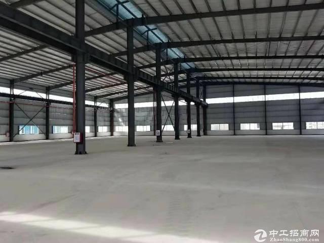 惠阳永湖镇全新钢构厂房滴水9米实际面积3050平出租可分租可办环评