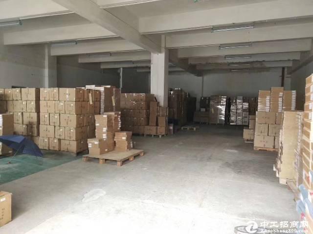 平湖华南城旁新出标准厂房一楼500平出租