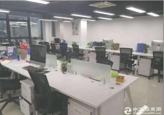 (出租)坂田南坑430平精装办公室带家私