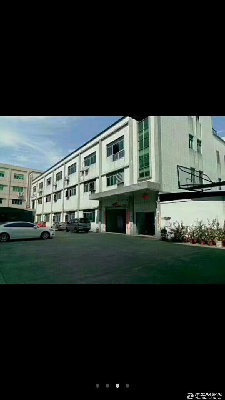 公明塘尾第二工业区原房东独院7500平精装修实际面积出租