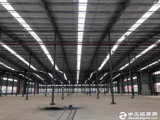 东西湖厂房40000㎡钢构,可分租,可生产,电量充足,进出方便