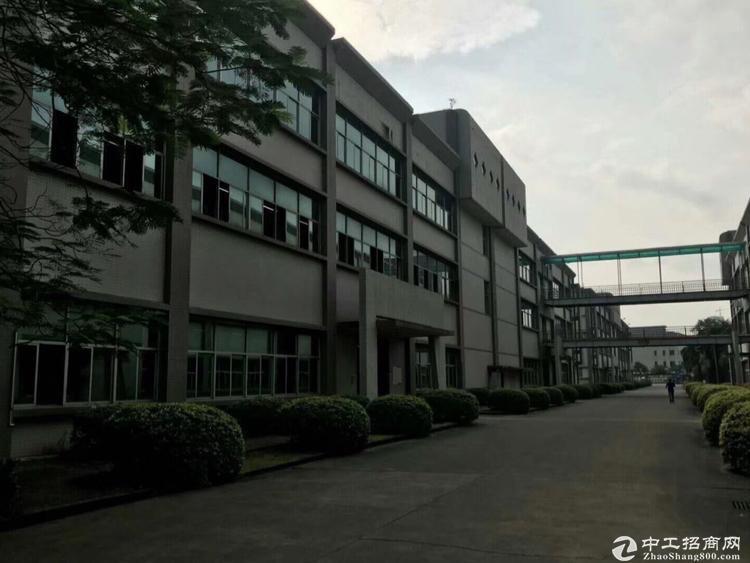 龙岗同乐红本独栋厂房15000平实际面积.可包租