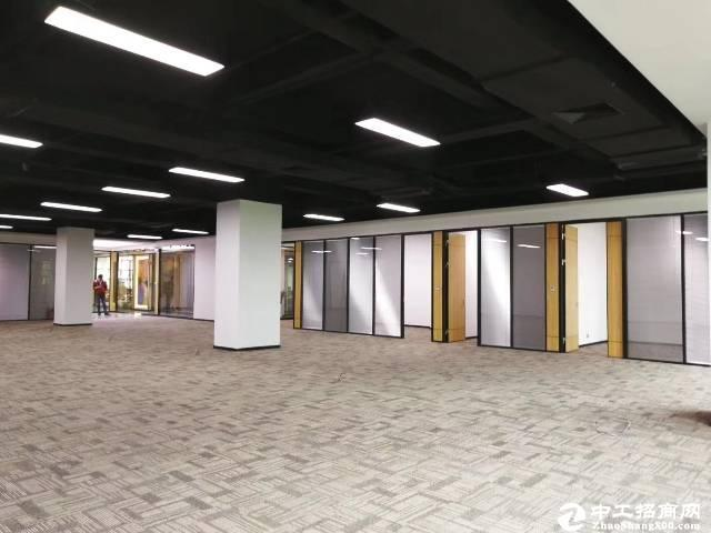 南山大学城地铁口500平带装修办公出租有红本可注册