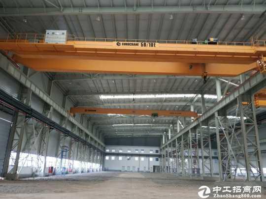 东西湖厂房50000㎡行车150吨重型厂房,可分租