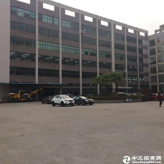 坪山高新区红本厂房3楼整层1500平招租;