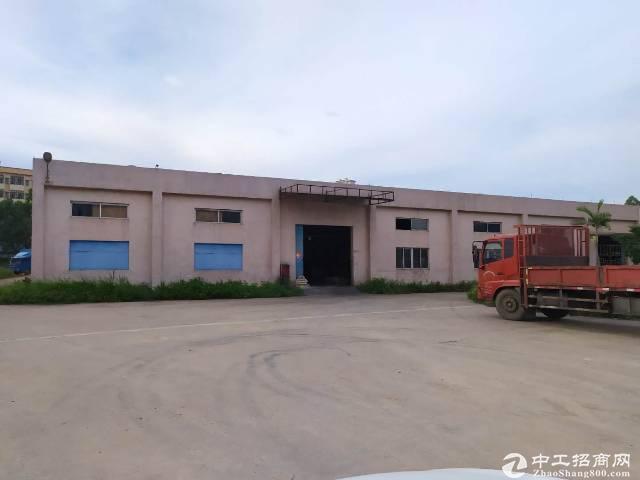 惠阳新圩镇原房东独院钢构厂房1350平方,现成办公室