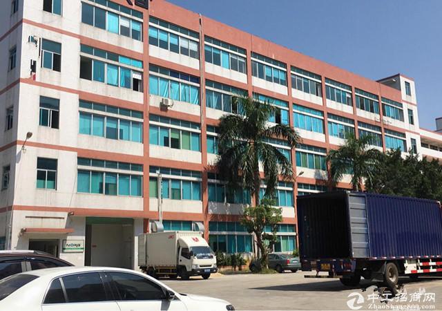 碧岭新出原房东一楼标准厂房1000平米,层高6米,大小分租