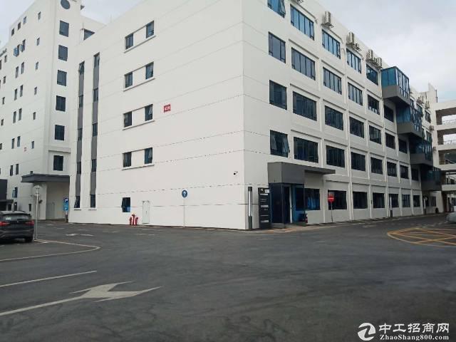 南山西丽新出楼上6000平米带消防喷淋厂房出租仓库办公生产