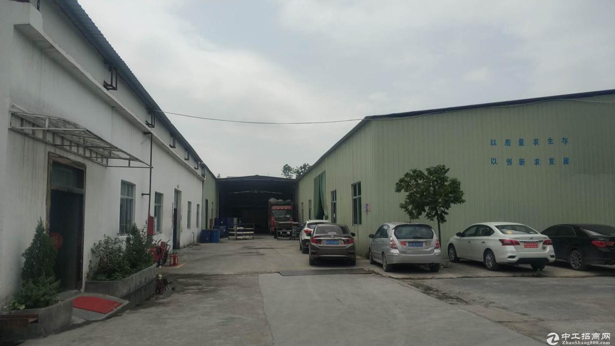 惠阳新圩南1280独栋钢构出租,交通便利,好招工