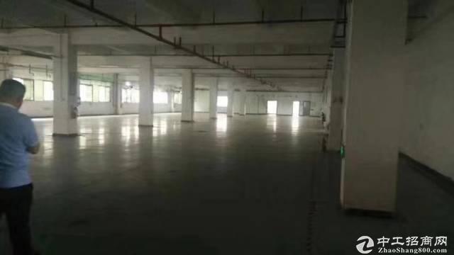 黄埔永和新出一楼原房东标准厂房2300平,可分租可办环评