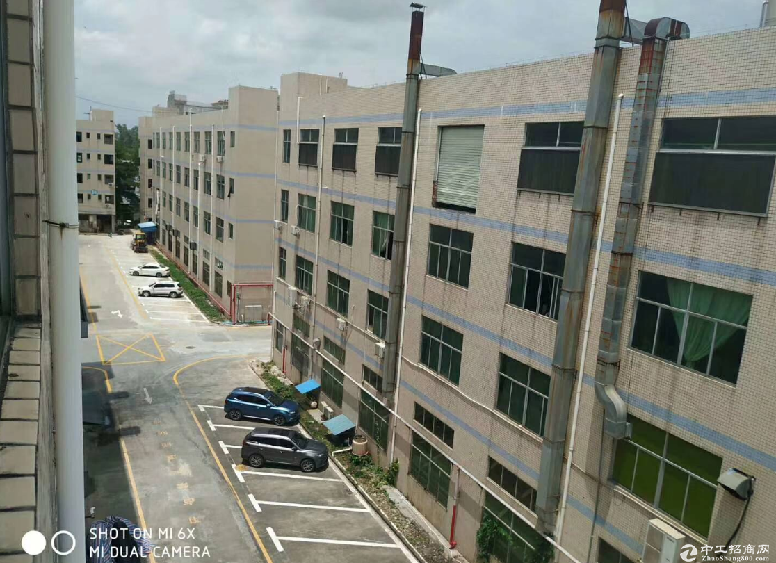清平高速出口辅城坳工业区新出楼上整层1380平方业主直租