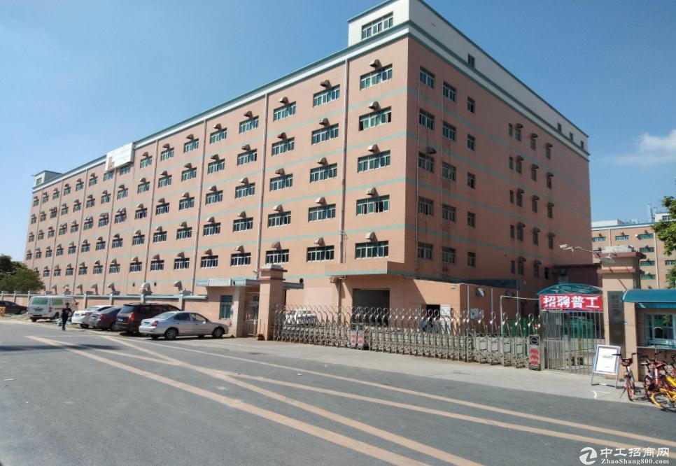 布吉李朗科技园100-350-500-800厂房出租,大小可组合