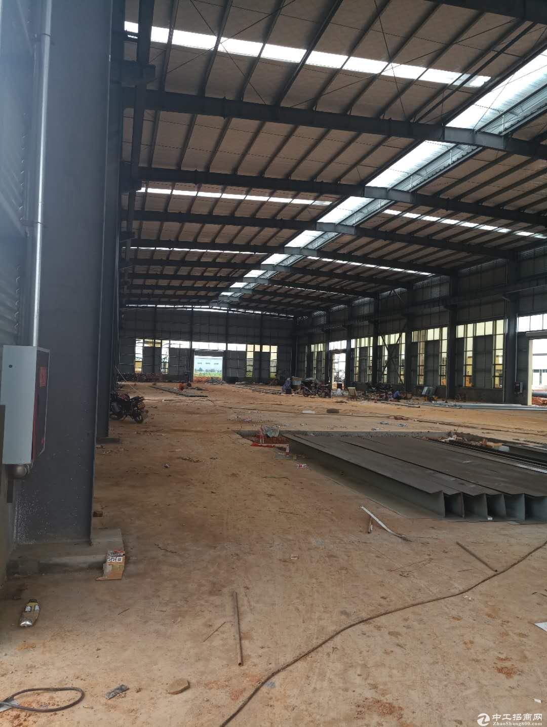 13米高单层钢结构厂房,1000平起售,无税收要求,无公摊