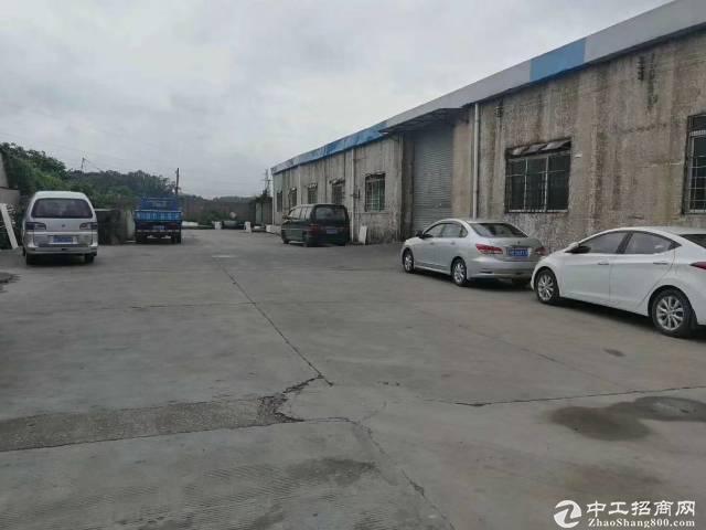 平湖白泥坑附近新出2480平7米高钢构仓库出租